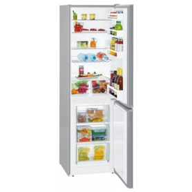 Liebherr CUel3331 55cm Smartfrost Fridge Freezer in Silver