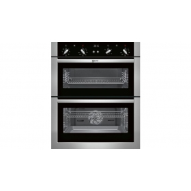 Neff Built Under Double Electric Oven Stainless Steel - 1