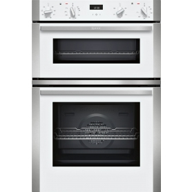 Neff N50 Built In Double Oven In White