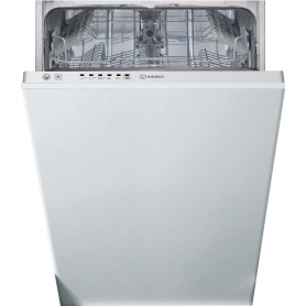 Indesit DSIE2B10UKN Fully Integrated Slimline Dishwasher