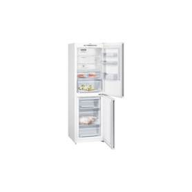 iQ300 Free-standing fridge-freezer with freezer at bottom 186 x 60 cm White KG34NVW35G - 1