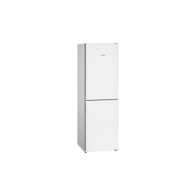 iQ300 Free-standing fridge-freezer with freezer at bottom 186 x 60 cm White KG34NVW35G - 0