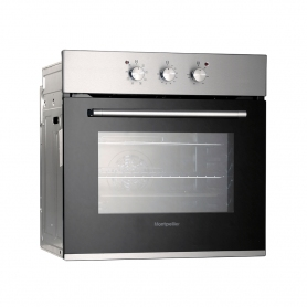 Montpellier SBF065X Built In Single Electric Oven