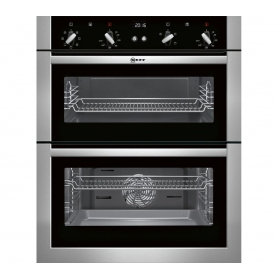 Neff Built Under Double Electric Oven Stainless Steel